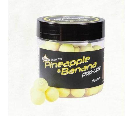 Плуващи топчета Dynamite Baits Pineapple Banana Fluro Pop-ups 12mm