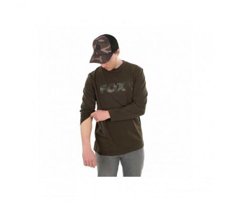 Блуза Fox Long Sleeve Khaki/Camo T-Shirt