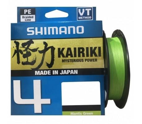 SHIMANO Kairiki 4 150m - Mantis Green
