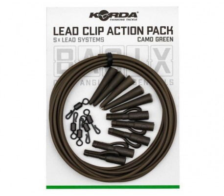 Комплект Korda Basix Lead Clip Action Pack