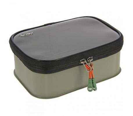 Чанта NGT Bit Bag Zip Up Case 301 EVA 14x13x8cm