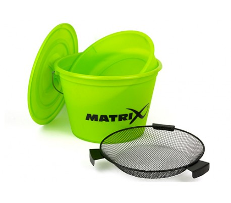 Комплект Кофа, Леген, Сито и Капак Matrix Lime Bucket Set