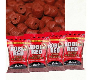 Пелети с дупка Dynamite Baits Robin Red Carp Pellets 12mm 900gr