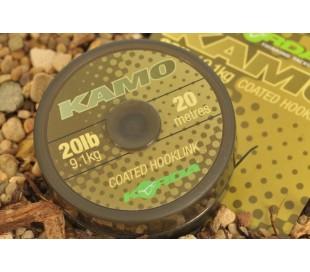 Влакно за поводи Korda Kamo Coated 20м