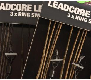 Готов монтаж Korda Leadcore Leaders 3бр