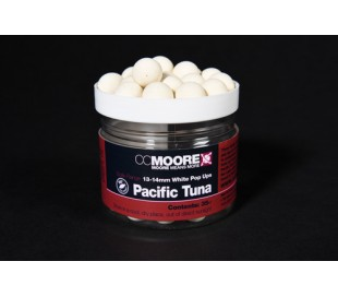 Pop-up топчета CCMoore Pacific Tuna White Pop Ups 15мм