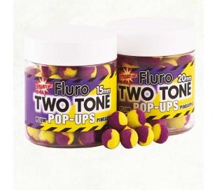 Pop-up топчета Dynamite Baits Two Tone Fluro Plum & Pineapple 15mm