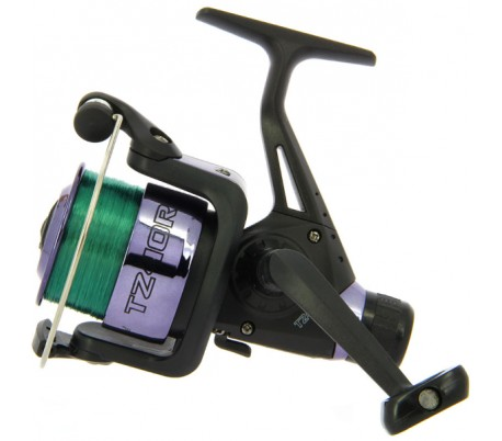Макара TZ40R Black Coarse Fishing Reel with 8lb Line