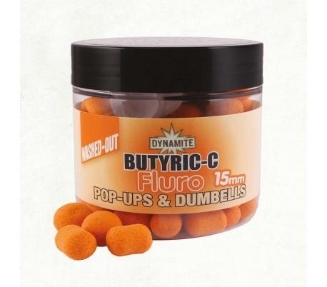 Pop-up топчета Dynamite Baits Butric C Fluro Washed 15мм