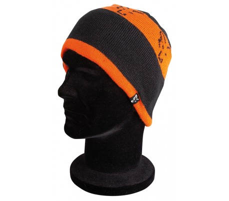 Зимна шапка Fox Black & Orange