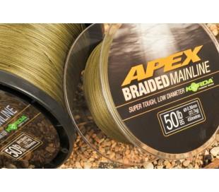 Плетено влакно Korda Apex Braided Main Line 450м 30lb 0.23мм