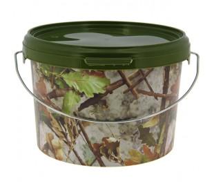 Кофа за риболов NGT Round Camo Bucket 3 Litre