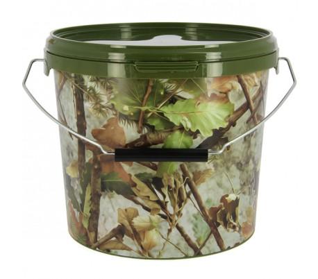 Кофа за риболов NGT Round Camo Bucket 5 Litre