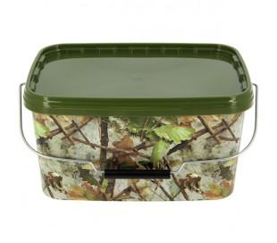 Кофа за риболов NGT Round Camo Bucket 10 Litre