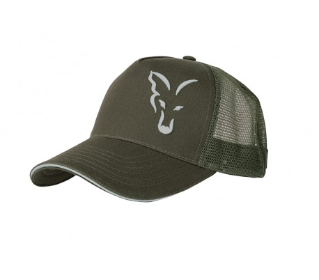 Шапка Fox Green & Silver Trucker Cap