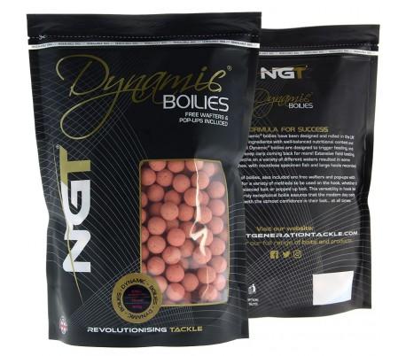 Протеинови топчета NGT Dynamic Boilies - Krill 15мм