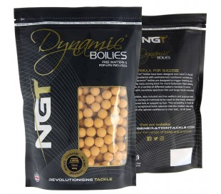 Протеинови топчета NGT Dynamic Boilies - White Chocolate & Tigernut 15мм