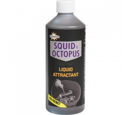 Течен атрактант Dynamite Spicy Shrimp & Prawn Liquid 500ml