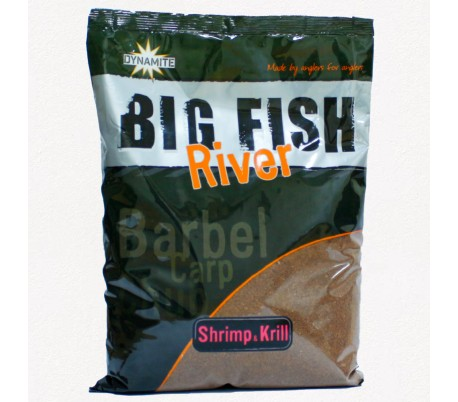 Захранка Dynamite Baits Big Fish River – Shrimp & Krill