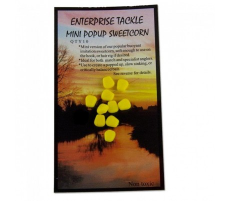 Силиконова царевица плуваща Enterprise Pop Up Sweetcorn Fluoro Red