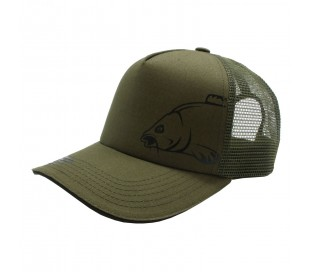 Лятна шапка CarpMax Bat Trucker Cap Olive