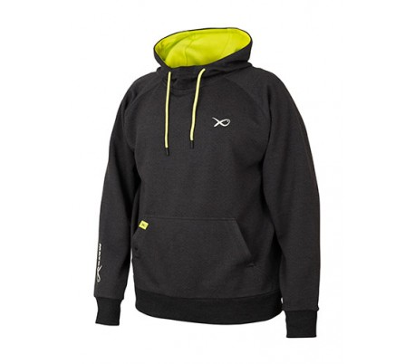 Matrix Minimal Black Marl Hoody суичър