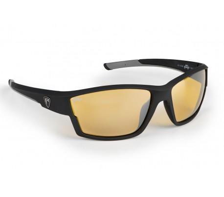 Слънчеви очила Fox Rage Matt Black Frame/Amber Lense Wraps