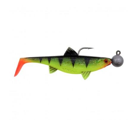 Готови силиконови рибки Senshu Real Fin Shad Rainbow Trout