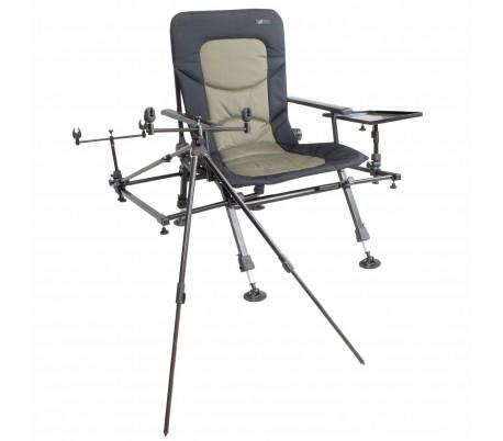 Стол със стойка и маса Cyprinus Wholehog Chair